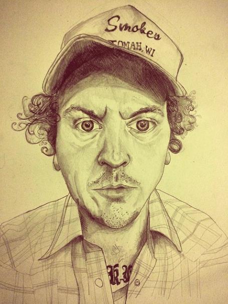me drawn by z
